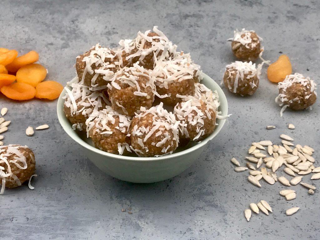 Apricot Sunbutter Balls